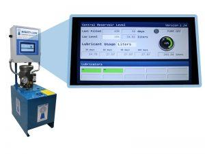 Tanque e interfaz del sistema de lubricación serie d
