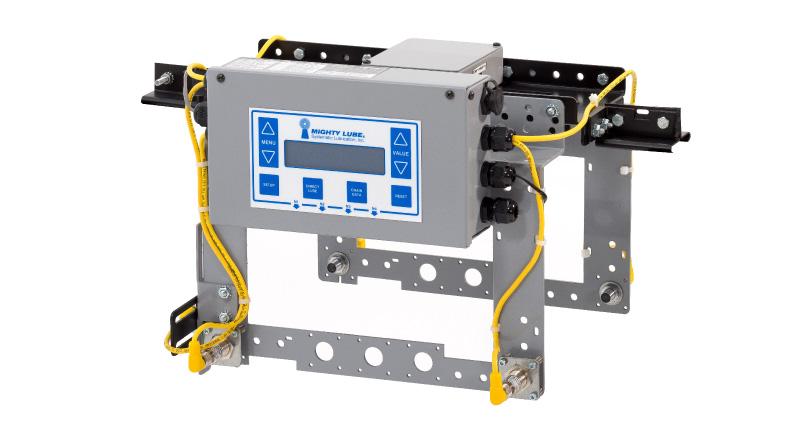 Unidad cabeza del sistema de monitoreo del transportador de uni línea Mighty Lube
