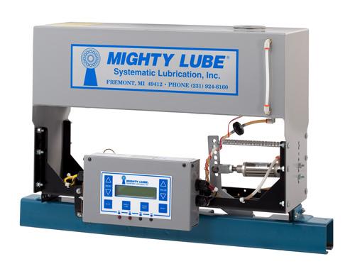 single line conveyor lubricator