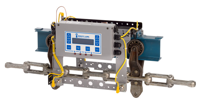 Mighty Lube Next Gen Permanent conveyor monitoring system head unit
