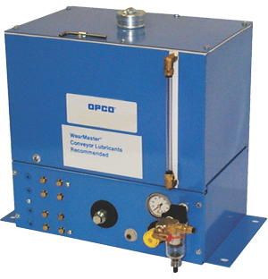 OPCO® Model OP-139 General Purpose Air Operated Conveyor Lubrication System