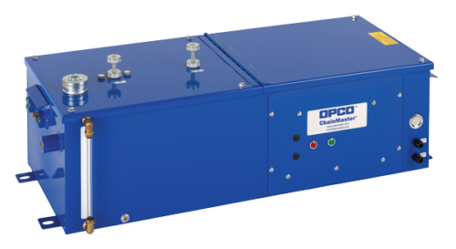 OPCO E-Series All Electric Conveyor Lubrication Systems Reservoir/ Pump and Controls Assembly