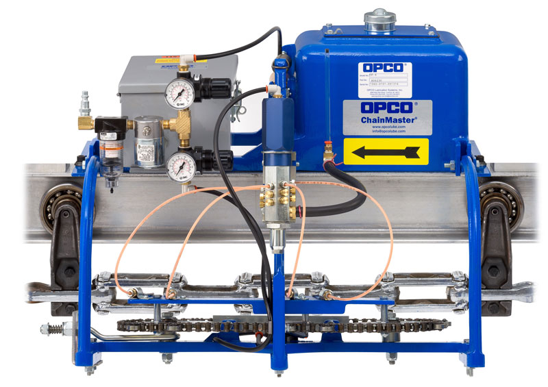 OPCO® Model OP-4 Air Operated Conveyor Oiler