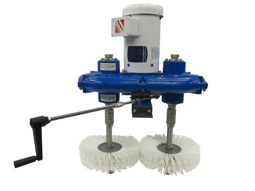 OP-8WD Powered Conveyor Cleaner for wash down