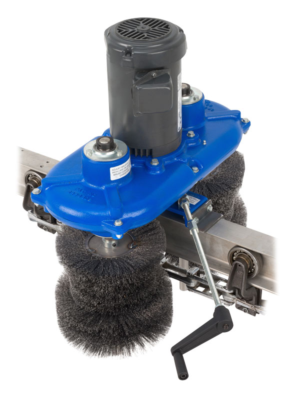 OP-08 OPCO Powered Brushes, Conveyor Chain and Trolley Cleaner